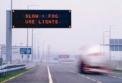 Image of a MS3 Variable Message Sign