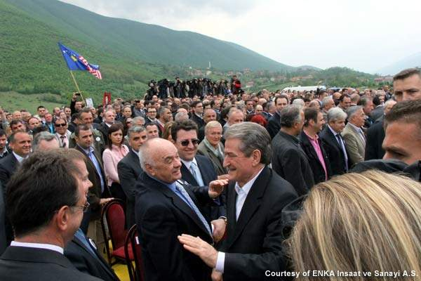 The Albania-Kosovo highway is known as the 'patriotic highway' and is intended to make the relationship between the two countries stronger.