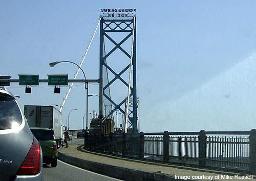 Around 11m vehicles cross Ambassador Bridge each year.