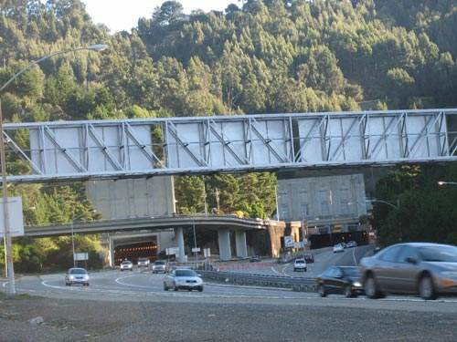 The tunnel is located between Oakland and Orinda.