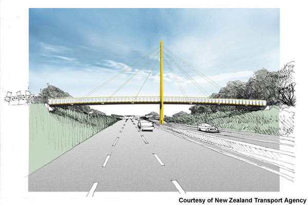 The NZD$220m Hobsonville deviation is the final project for the SH18 motorway and is a 6km section of four-lane highway.