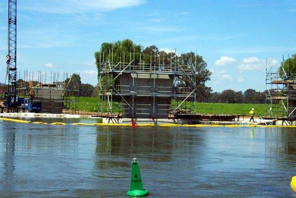 As part of the Albury-Wodonga Hume Freeway Project (AWHFP), a second crossing of the Murray River between Albury and Wodonga is being constructed.