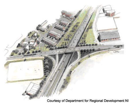 The new Grosvenor Road junction has opened six months ahead of schedule.