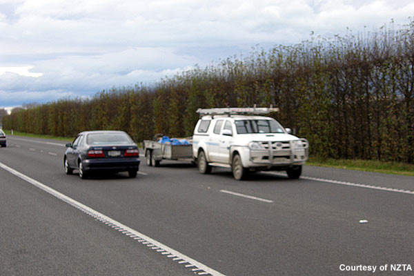 Hawke's Bay Expressway in New Zealand connects Flaxmere, west of Hastings, and Napier Airport.