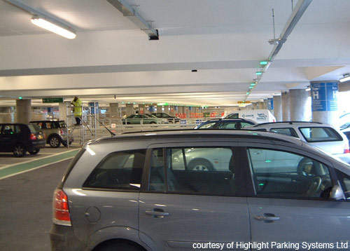 Highlight Parking Systems has installed an innovative sensor and indicator system at the T5 MSCP.