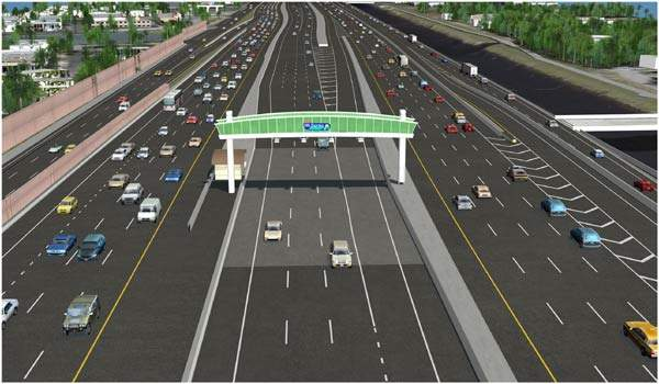 Drivers on I-595 will use the SunPass system to pay tolls, which will increase when demand is highest at rush hour.