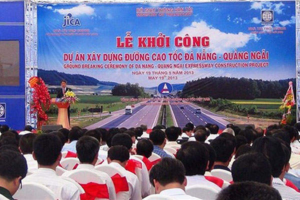 Construction of the DQEP was started in May 2013. Image courtesy of The Investment Promotion and Enterprises Support Agency of Quangnam Province.