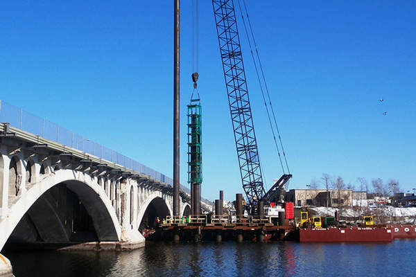 The construction of the eastbound portion linking Worcester and Shrewsbury began in 2012. Photo Courtesy of Massachusetts Department of Transportation.