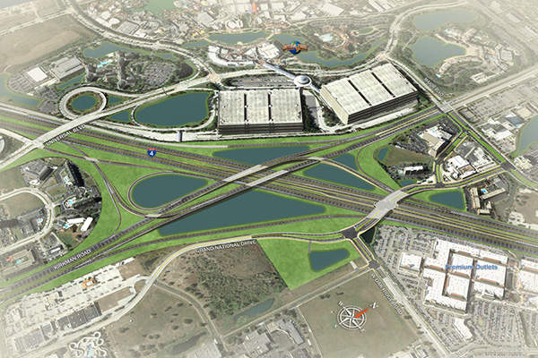 The improvements are expected to be completed in 2021. Image courtesy of I-4 Mobility Partners.