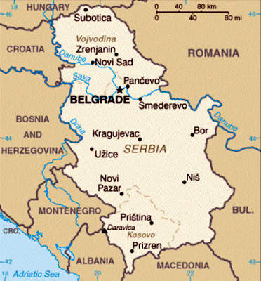 The route of the S1 Expressway will run from the Hungarian border to Belgrade and then down to Pozega.