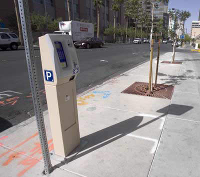 How the parking meter system will be installed in Calgary.