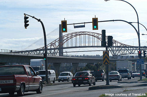 The Pattullo Bridge was opened to traffic on 15 November 1937.