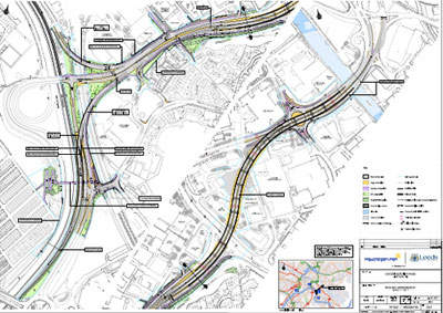 The Stage 7 plan as set down by Leeds County Council.