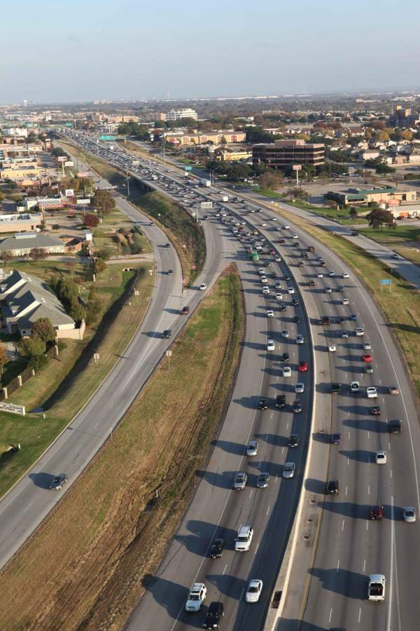 The NTE project has provided relief from congestion by raising the road capacity along the corridor. Image courtesy of NTE Mobility Partners.