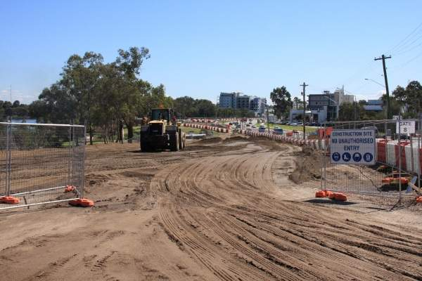 The upgrade project was undertaken by City East Alliance, which is comprised of Leighton Contractors, GHD and NRW Holdings. Image courtesy of City East Alliance.