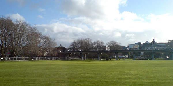 Vicoria Park Viaduct in Auckland City.