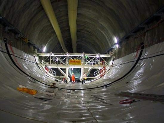 Basel tube.