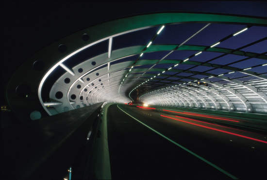 The Southern Link has brought two new three-lane tunnels beneath the Yarra river.