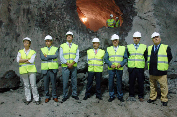 The excavation of the second El Bicho Tunnel took nine months to complete.