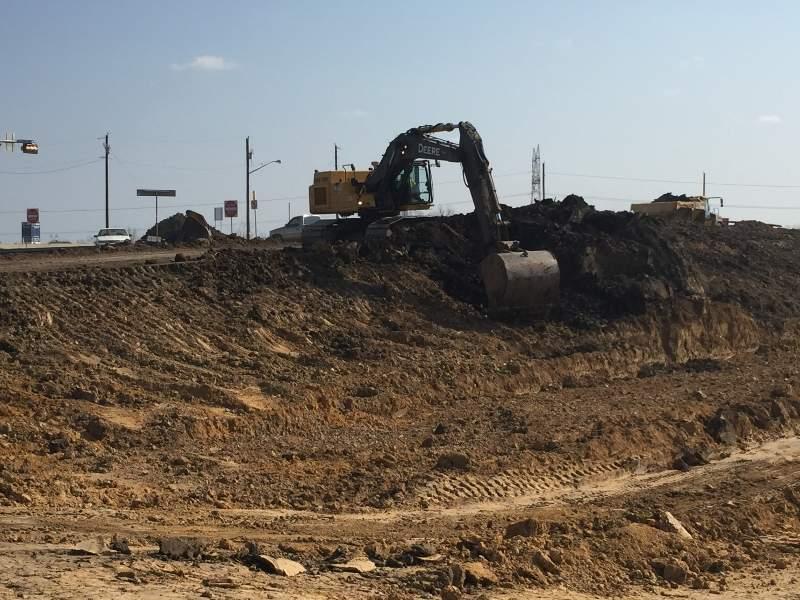 The site preparation works began in December 2015. The site preparation works began in December 2015.