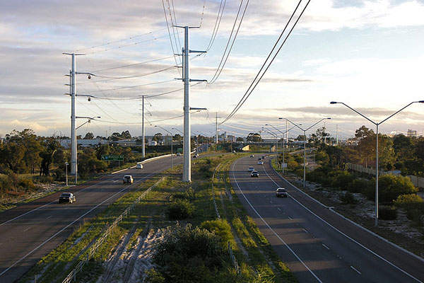 Roe Highway will be extended for 1km between Tonkin Highway and Welshpool Road. Image courtesy of SeanMack.