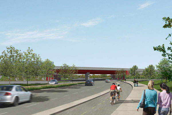 The project will also include the reconstruction of three more interchanges as well as sections of Autoroutes 15, 20 and 720. Image: courtesy of Québec Ministry of Transportation.
