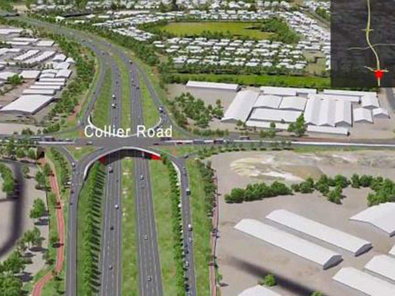 The NorthLink WA project involves construction of three sections namely southern, central and northern. Image courtesy of APP.