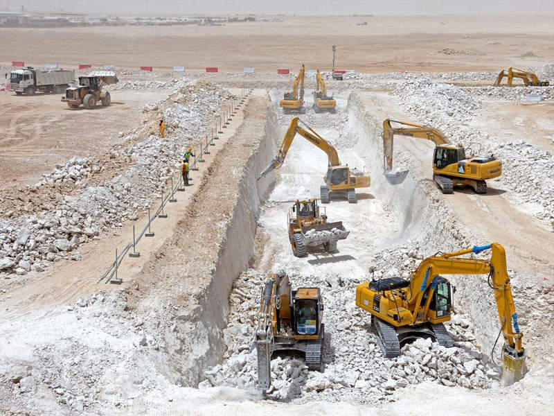 The New Orbital Highway project is part of Qatar's Expressway Programme. Image courtesy of Ashghal.