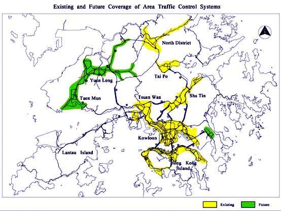 As part of the development of the Hong Kong ITS, Traffic Control and Surveillance Systems (TCSS) are being installed at Island East Corridor and Tolo Fanling Highways, while five existing TCSSs are being upgraded.