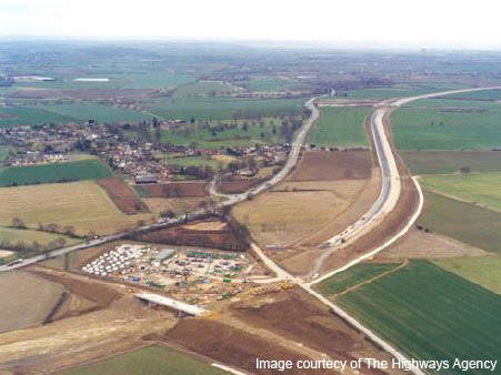 The construction of the A421 bypass cost over £57m and took almost two years to complete.
