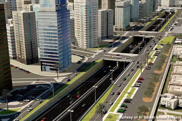 The project will have a series of tunnels, surface roadways and junctions that will ease traffic congestion.