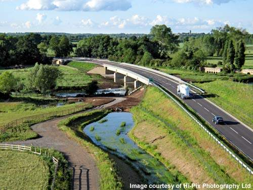 The Barford Bypass was open to traffic three months ahead of schedule.
