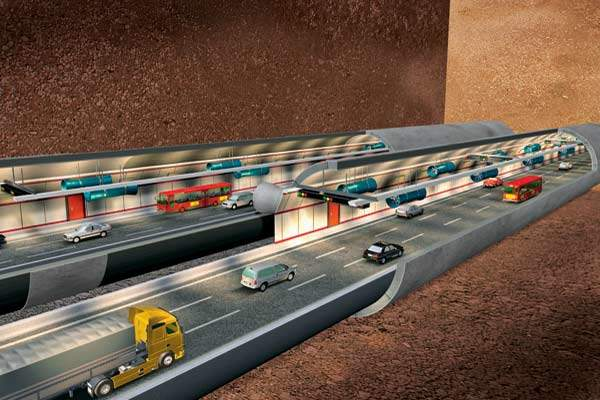 The two tunnels will require the disposal of 2.7 million cubic metres of earth by the time they are completed.