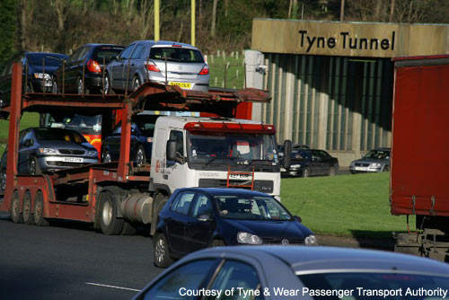 Currently, on the existing Tyne Tunnel, there are severe traffic issues as the road narrows from a dual carriageway to a single carriageway.