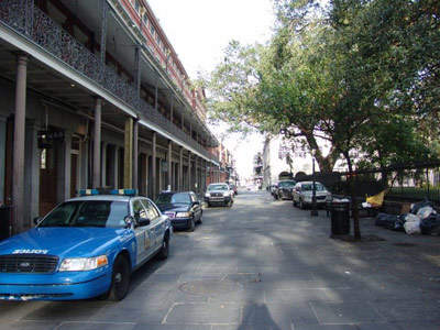 A street in the French Quarter where Stelio machines will be installed.