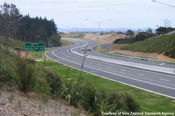 The project involves four interchanges at Hobsonville Road, Brigham Creek Road, Trig Road and Buckley Avenue.
