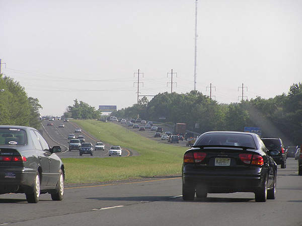 The direct connection to I-295 in New Jersey will benefit motorists by reducing congestion, Image courtesy of Mlaurenti.