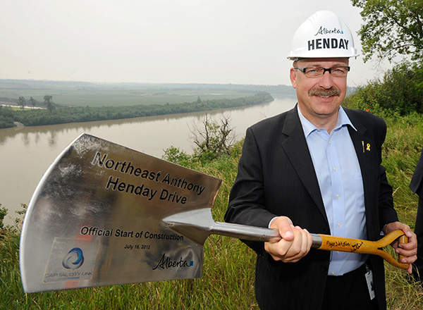 The north-east segment of the Anthony Henday Drive was completed by October 2016. Image courtesy of Government of Alberta.