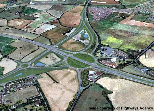 The work was carried out on behalf of the Highways Agency and the Department of Transport by Morrison Construction and Ove Arup as the project managers.