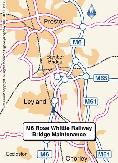 M6 Rose Whittle Map