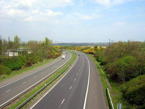The M6 will connect directly to the M74 and lead straight to Glasgow.