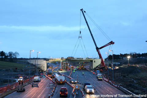 Work on the Haggs upgrade project commenced in January 2009 and was completed on 26 August 2011.