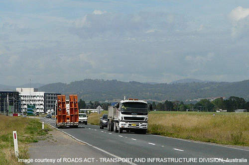 The Majura parkway project facilitates diversion of traffic from the residential environment of North Canberra.