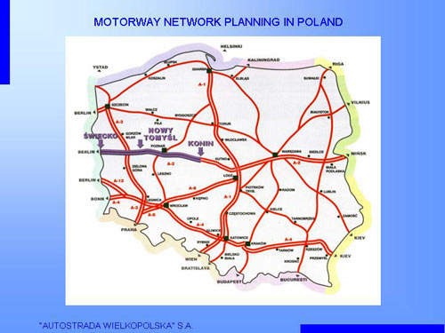 The A2 toll motorway is the first public-private partnership (PPP) project to be undertaken in Poland.