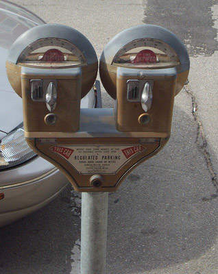 The old-style parking meters of Calgary are being replaced.