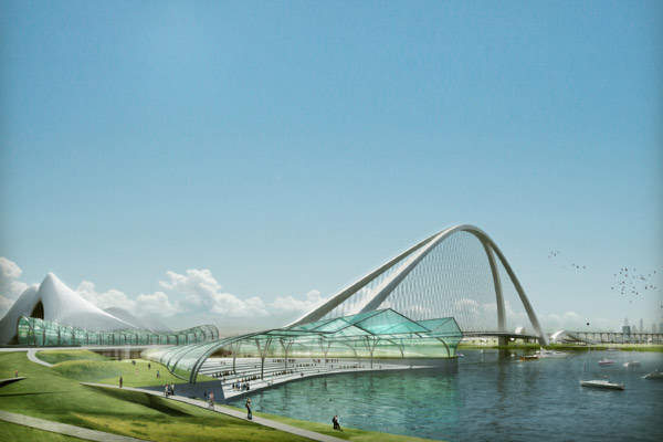 Construction is expected to be completed in 2015.