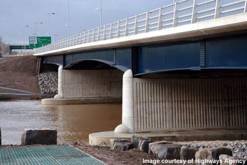 The inauguration of the new Surtees Bridge.