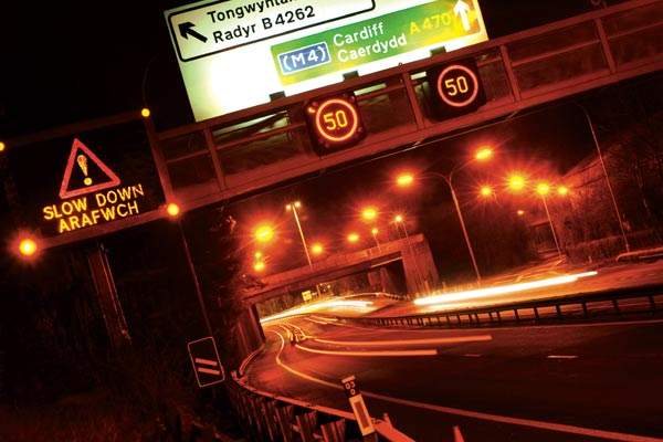 Image of a Controlled Motorway Indicators