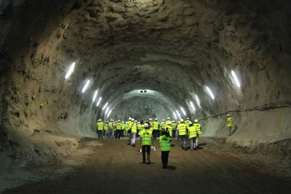 Teno Ingenieros and Geocontrol were responsible for the second El Bicho Tunnel excavation.