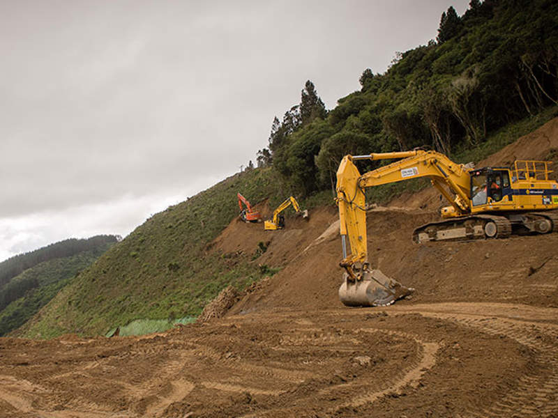 The Transmission Gully project will include construction of a four-lane expressway. Image courtesy of NZ Transport Agency.